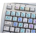 LIGHTROOM Galaxy series keyboard sticker 12x12