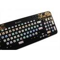 Sony Vegas Galaxy series keyboard sticker 12x12