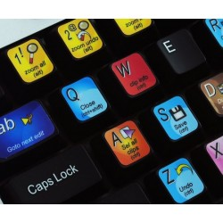Vcube keyboard sticker
