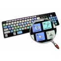 PHOTOSHOP Galaxy series keyboard sticker apple