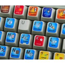 ANIMATION MASTER keyboard sticker