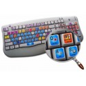 ANIMATION MASTER keyboard sticker