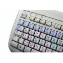 APERTURE Galaxy series keyboard sticker 12x12