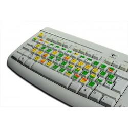 Vi and Vim keyboard sticker