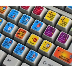 3DS MAX keyboard sticker
