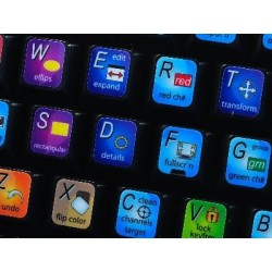 Autodesk Composite keyboard sticker