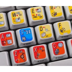 Solid Edge keyboard sticker