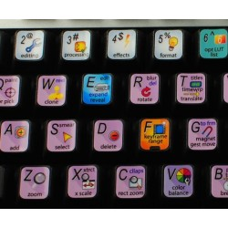 Autodesk Flame keyboard sticker