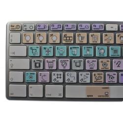 Autodesk Maya Galaxy series keyboard sticker