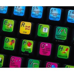 PhotoImpact keyboard sticker