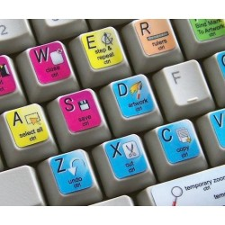 Pandora keyboard sticker