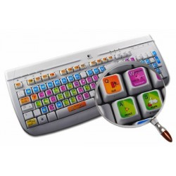Blender keyboard sticker