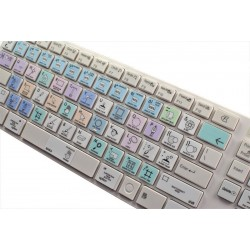 Corel Painter Galaxy series keyboard sticker apple
