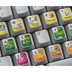 Google SketchUp keyboard sticker