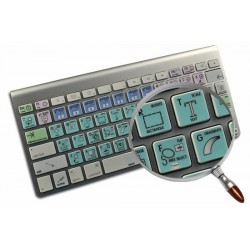 GIMP Galaxy series keyboard sticker Apple size