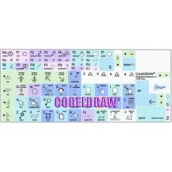 CorelDRAW Galaxy series keyboard sticker