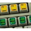Bloomberg Terminal keyboard sticker