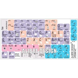 ALIBRE DESIGN keyboard sticker
