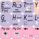 ALIBRE DESIGN keyboard sticker
