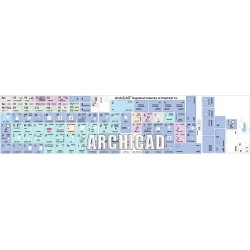 ARCHICAD Galaxy series keyboard sticker