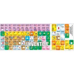 Autodesk Inventor keyboard sticker