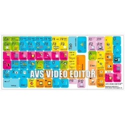 AVS Video Editor keyboard sticker