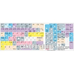 Canopus EDIUS keyboard sticker