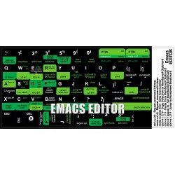 Emacs EDITOR keyboard sticker