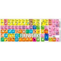 Adobe Fireworks keyboard sticker