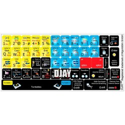 DJAY keyboard sticker