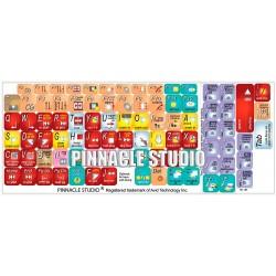 Pinnacle studio keyboard sticker