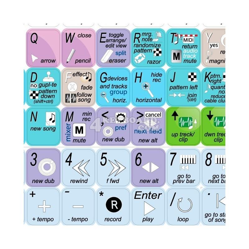 REASON keyboard sticker