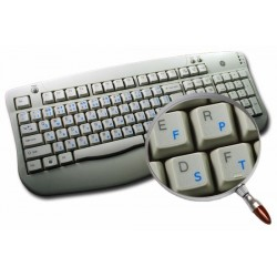 Colemak transparent keyboard  stickers