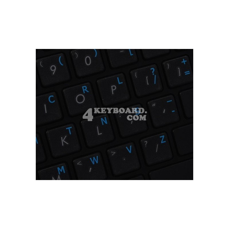 Dvorak UK transparent keyboard  stickers