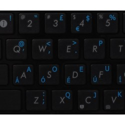 Dvorak UK transparent keyboard  stickers