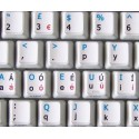 Dvorak UK non-transparent keyboard  stickers