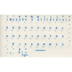 Svorak transparent keyboard  stickers