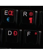 Canadian multilingual Sticker | 4keyboard.com