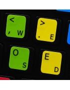 Dvorak Sticker   4keyboard.com