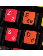 French AZERTY Sticker | 4keyboard.com