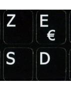 French AZERTY Sticker | 4keyboard.com