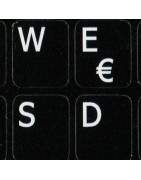 French QWERTY Sticker | 4keyboard.com