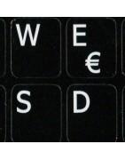 French QWERTY Sticker | 4keyboard.com