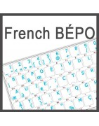 French Bepo Sticker | 4keyboard.com