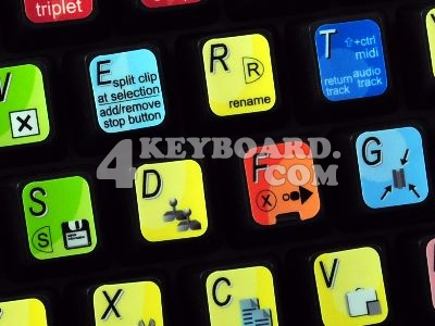 Ableton Live keyboard stickers