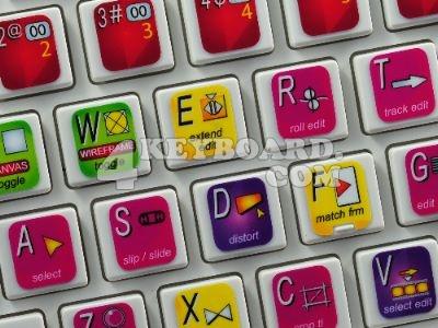 Final Cut keyboard stickers