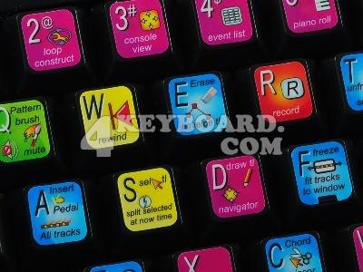 Cakewalk Sonar keyboard stickers