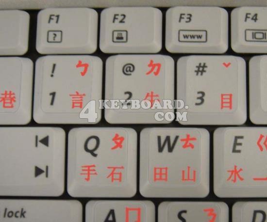 Chinese Keyboard sticker