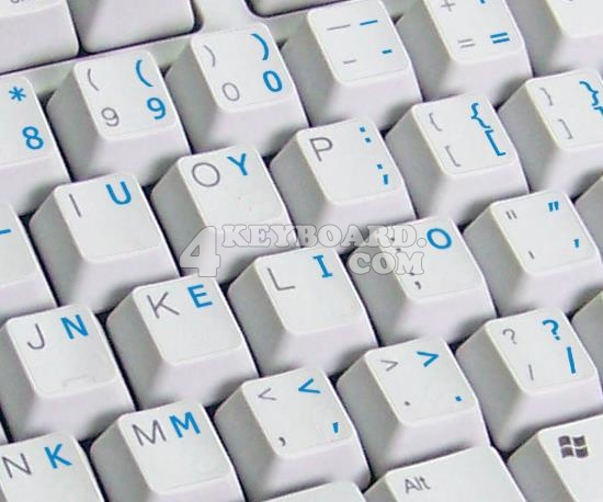 Colemak keyboard stickers
