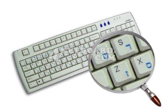 Korean Keyboard sticker